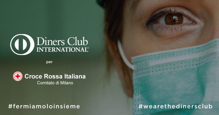 Strategycom per Diners Club Italia a favore di CRI Milano